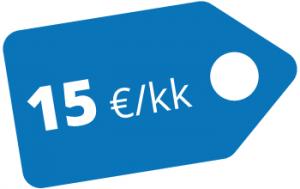 """""""Huoleton™ Julkaisujärjestelmän päivitys 15 €/kk"""